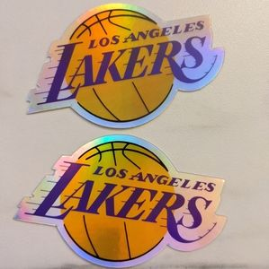 LAKERS Logo Holographic sticker LA Lakers sticker